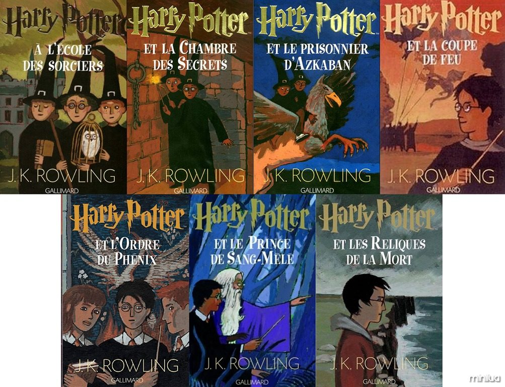 Harry Potter Book Covers Around The World : Moved permanently