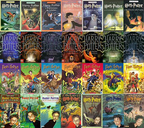 Harry Potter Book Covers From Around The World ~ Harry potter covers from around the world which one is