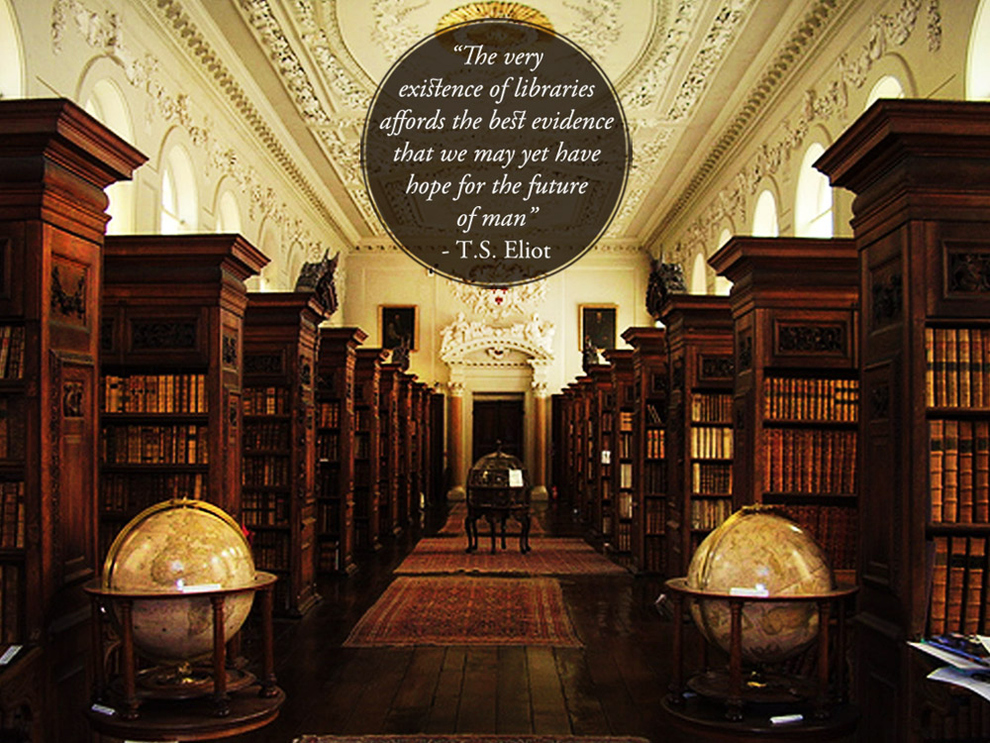 Beautiful Quotes About Libraries