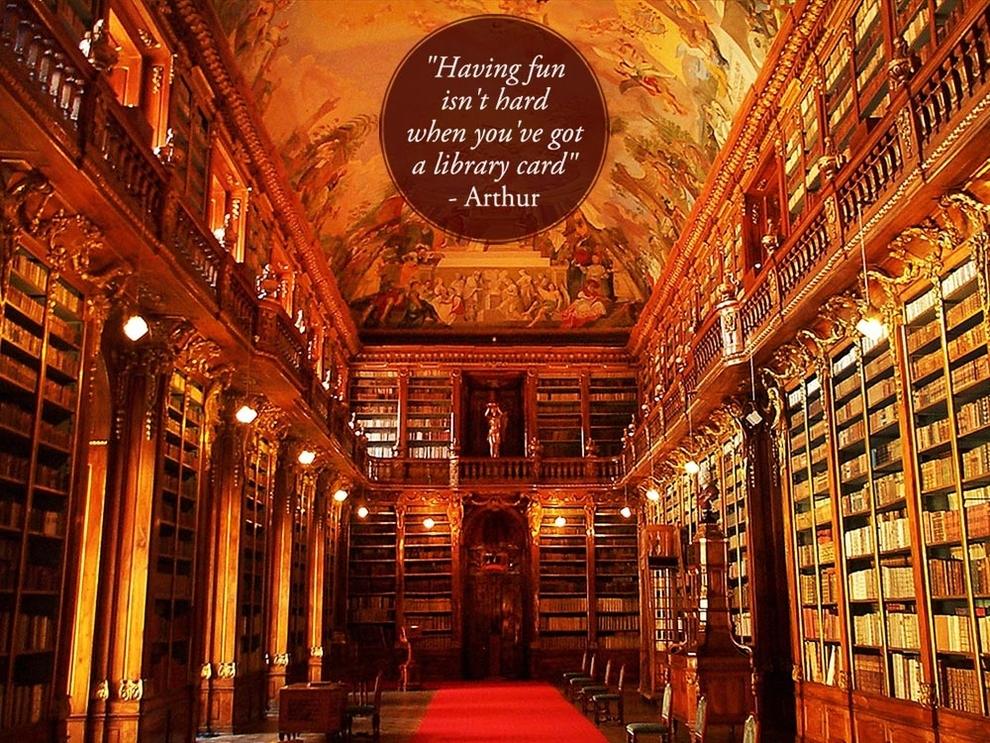 Beautiful Quotes About Libraries | chasingtheturtle