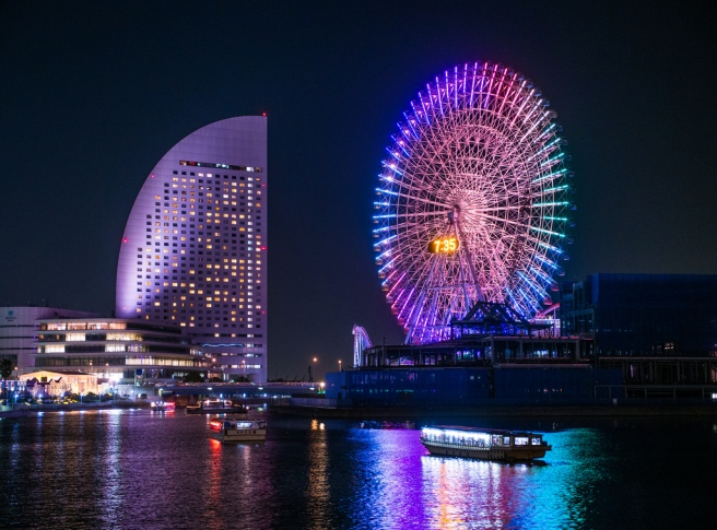 Cosmo Clock 21 (Yokohama, Honshū, Japan) www.japanesesearch.com