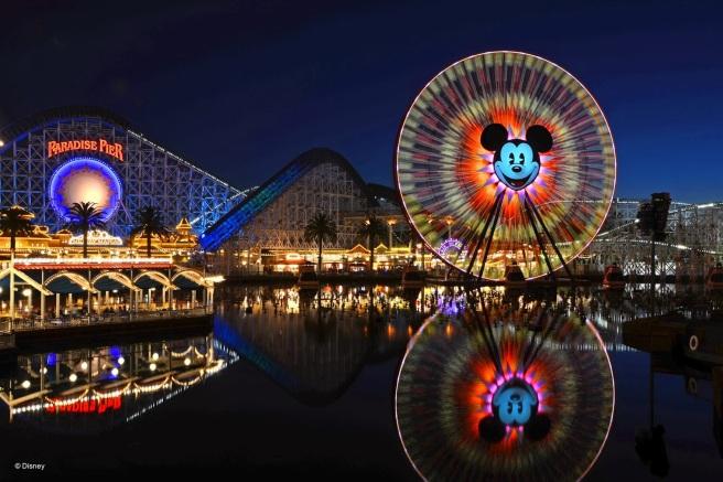 Mickey's Fun Wheel (Anaheim, California) stacyandoscar.blogspot.com
