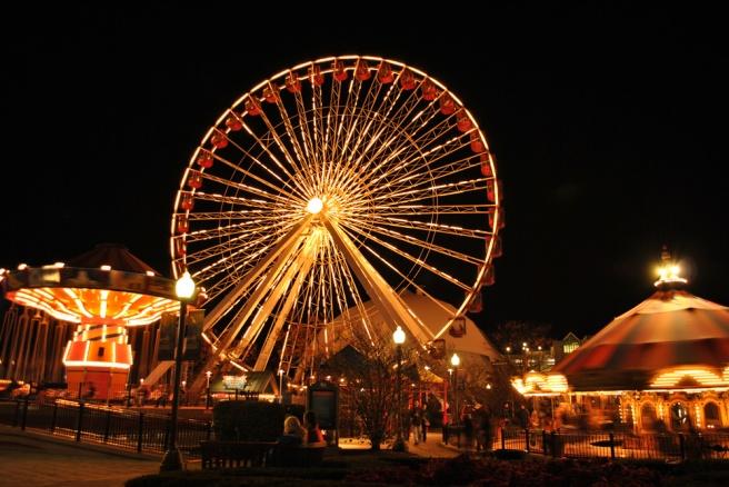 Navy Pier Ferris Wheel (Navy Pier, Chicago) emyreu.wordpress.com