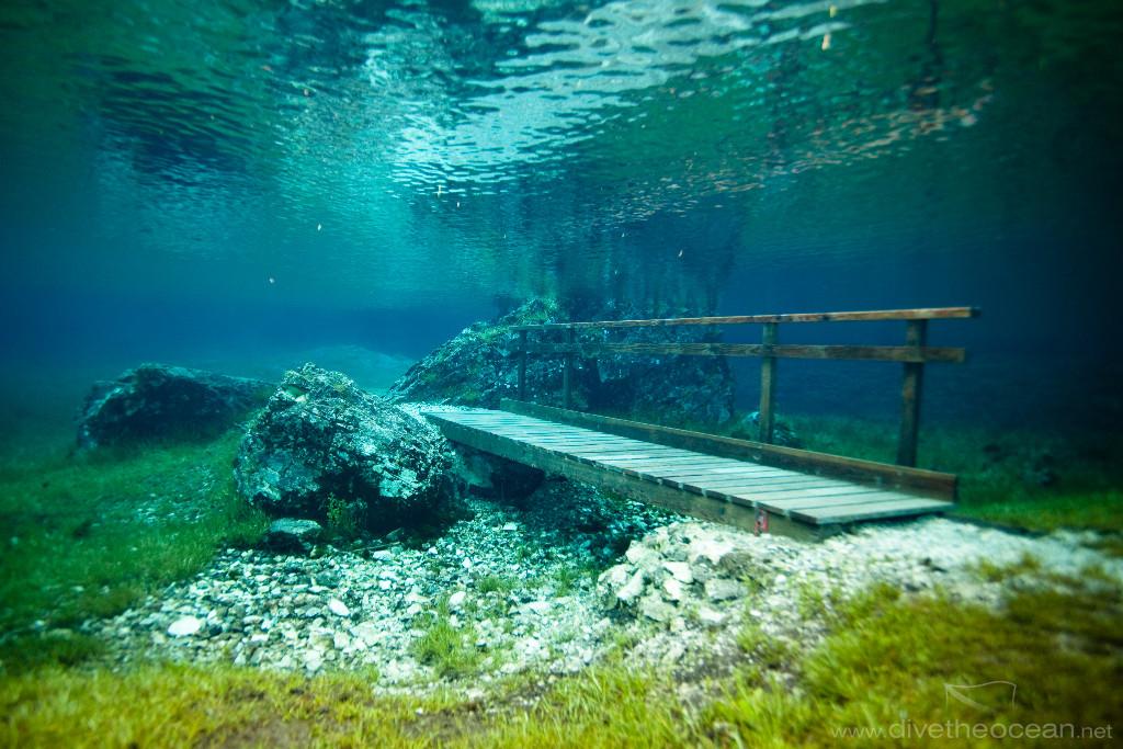 Underwater Park, Green lake – Tragoess, Styria, Austria ...