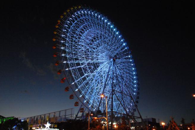 tempozan ferris wheel, Osaka Japan news.distractify.com