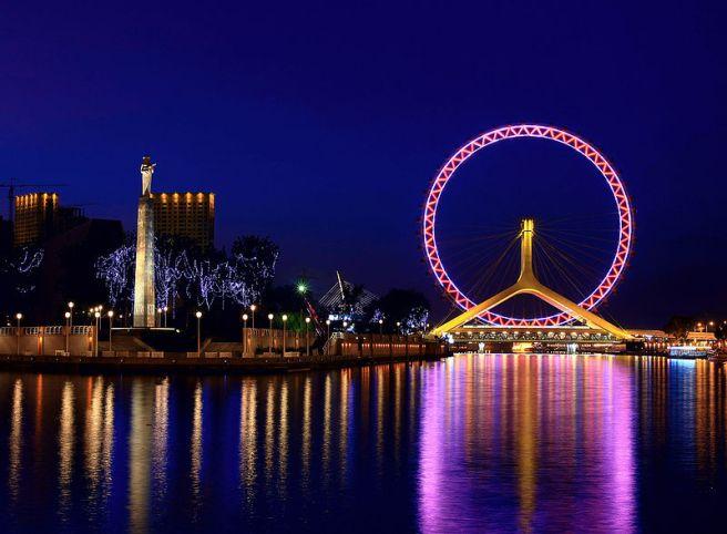Tianjin Eye (Tianjin, China) www.businessinsider