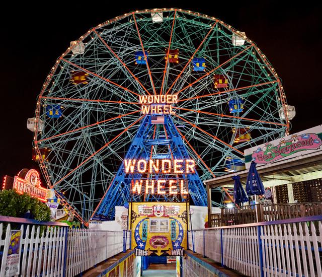 Wonder Wheel (Coney Island, NYC) by james karla murray abcnews.go.com
