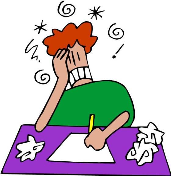 Cartoon Frustrated Face Frustration Cartoon