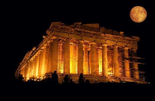 parthenon, athens, greece - From Summer Travels by MK