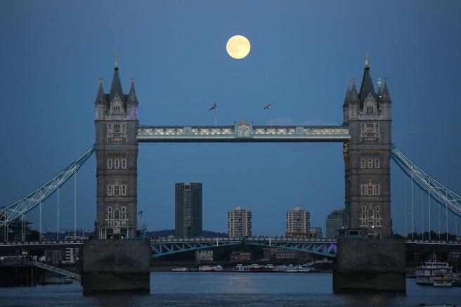 Tower Bridge in London (Paul Hackett-Reuters)