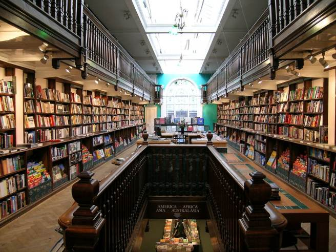 Daunt Books, London, United Kingdom  via londontown.com