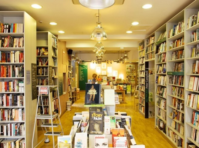 London Review Bookshop, London via Daniel Dalton @ BuzzFeed