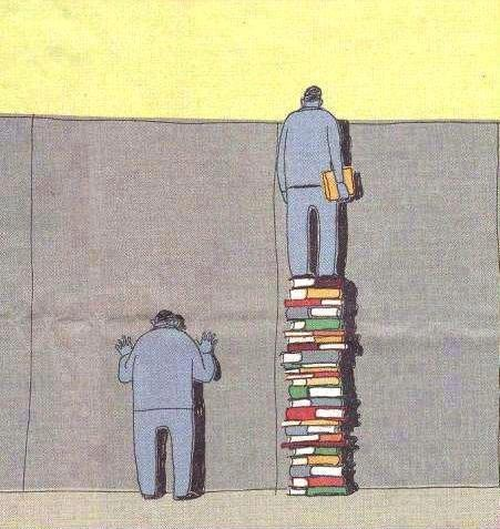 Reading gives you new perspectives (autor desconocido)