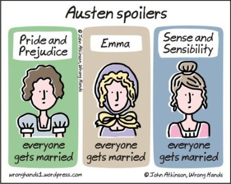 Austen spoilers