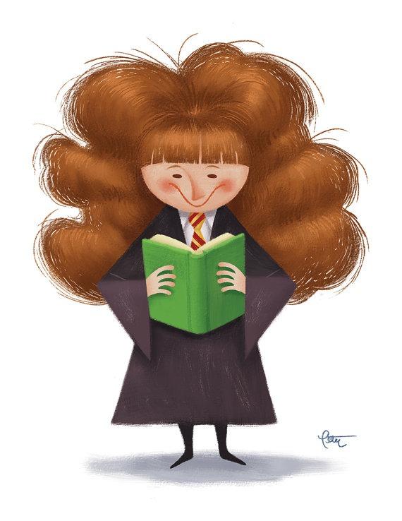 Magicians also read2 (ilustración de Peter Emmerich)