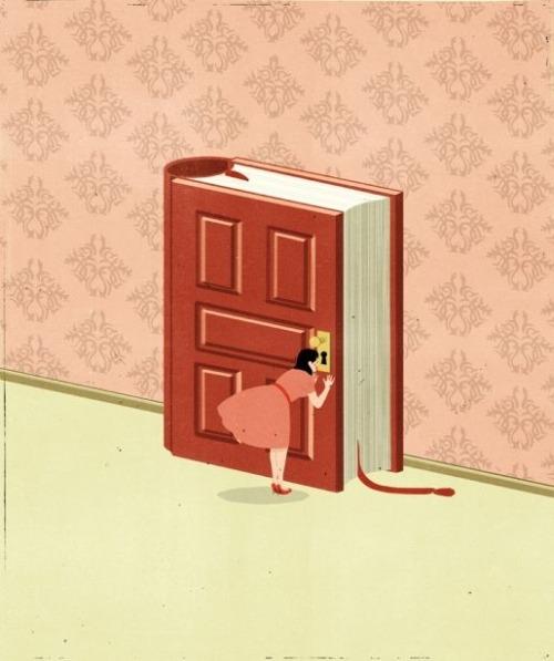 Curiosity reader (ilustración de Alessandro Gottardo)