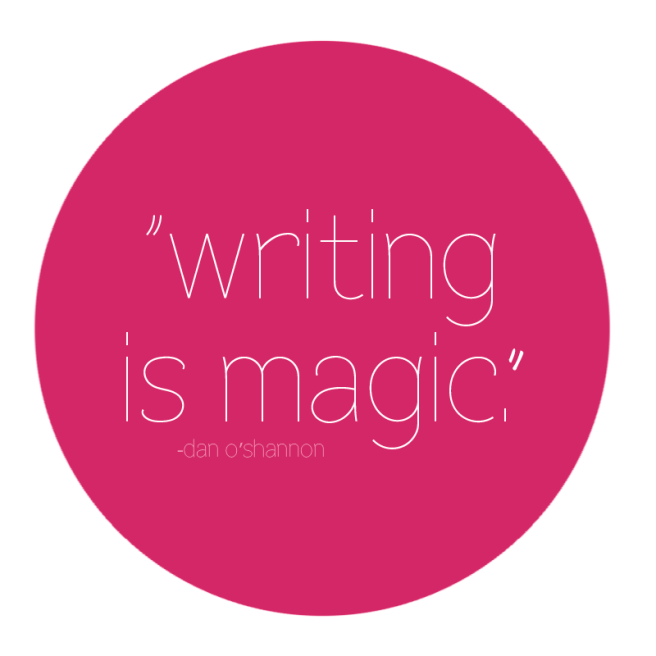 writing is magic