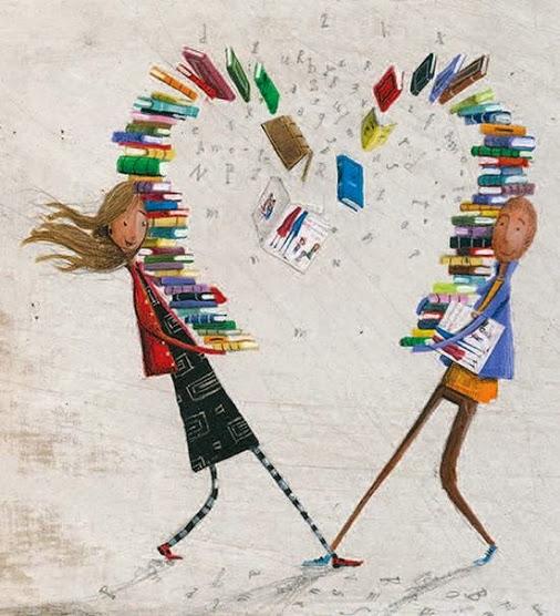 booklove (ilustración de Paulo Galindro)