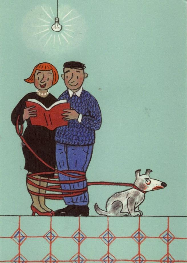 Reading a couple - love between books 2 (ilustración de Rotraut Susanne Berner)