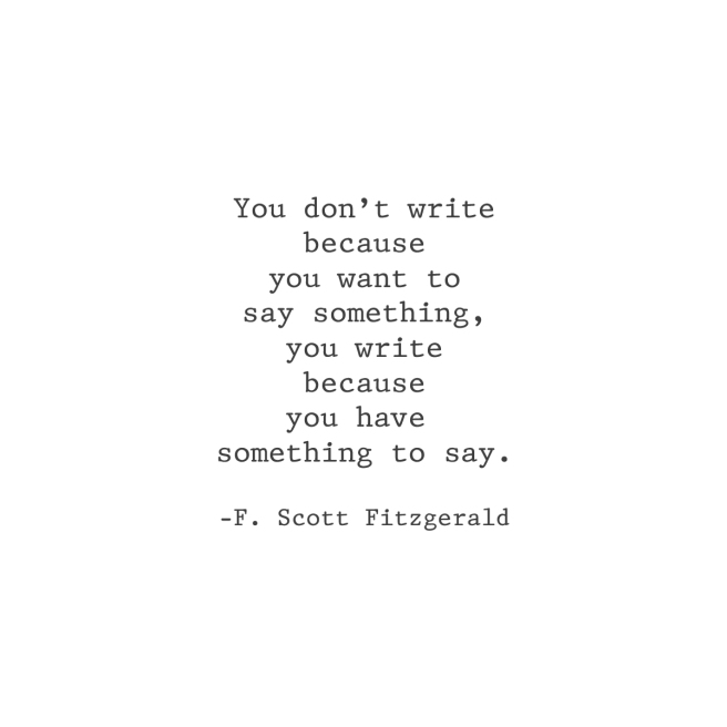 SomethingToSay_Fitzgerald