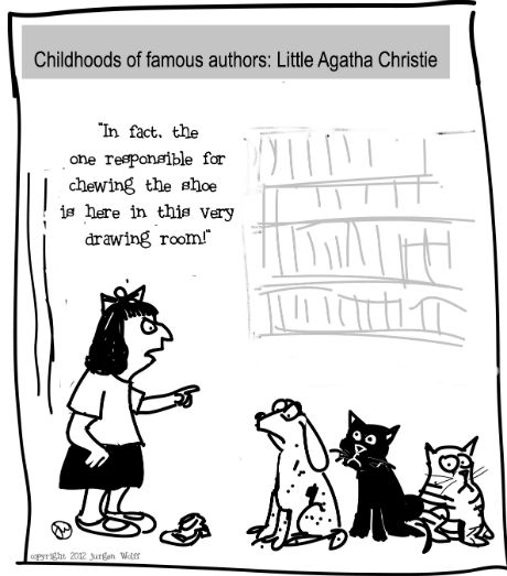 Childhoods of famous authors - Agatha Christie