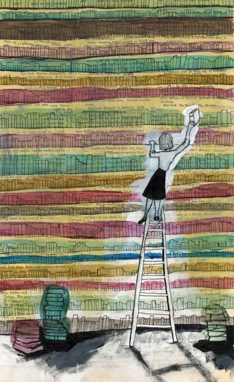 Librarian (ilustración de Molly Cornelius)