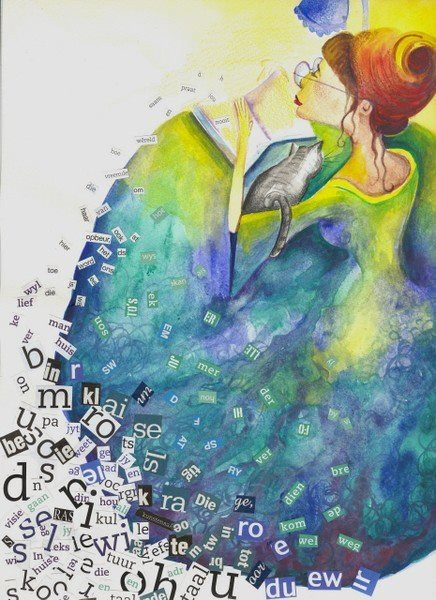 Magic in letters (ilustración de Cecilia Ferreira)