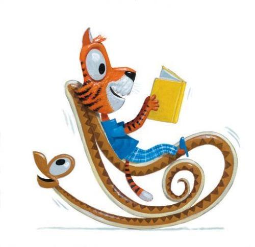 Readers animals (ilustración de Leo Timmers)3