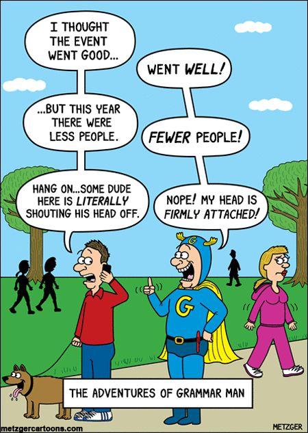 The Adventures of Grammar Man