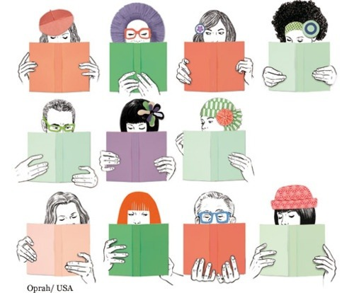 Each book has its reader (ilustración de Silja Goetz)