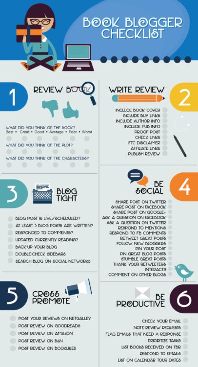 Book Blogger Checklist