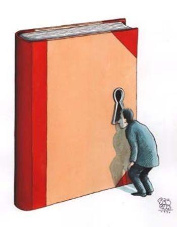 Curiosity reader (ilustración de Selçuk Demirel)
