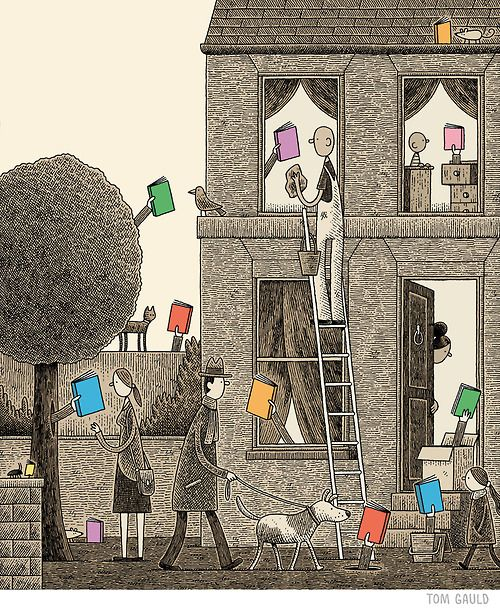 Readers - Tom Gauld