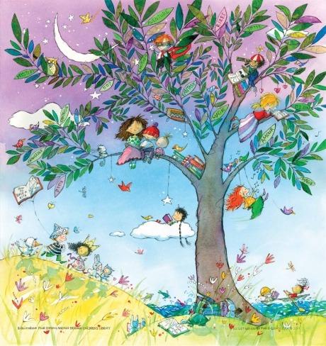 Summer Reding (ilustración de Marie-Louise Gay)