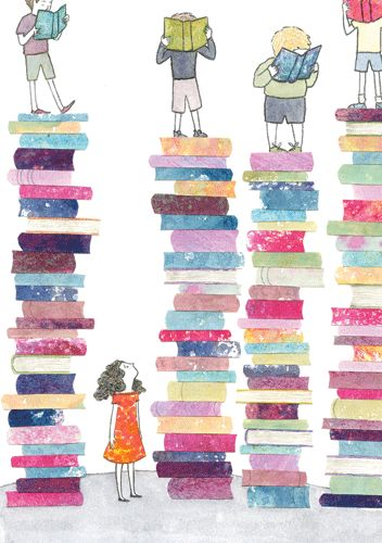 You are taller with everybook you read