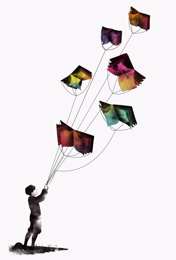 flying books | chasingtheturtle