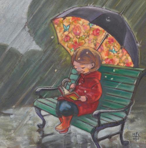 ilustración de Malene Laugesen