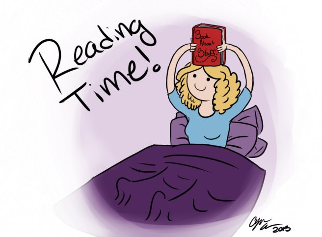 reading time by allicynleiaallen