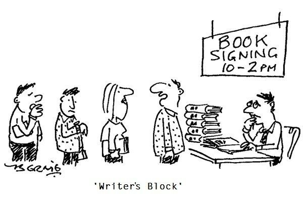 Book Signing Block - Writers Write