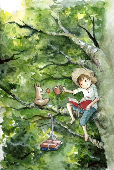 books with a friend (Kurita Eriko)