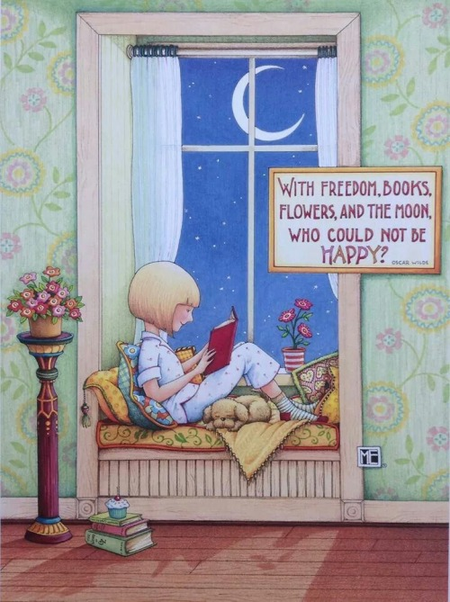 ilustracion de Mary Engelbreit
